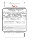 AEG AEG 824