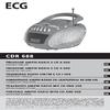 ECG CDR 688 RED
