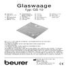 Beurer GS 10