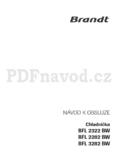 Brandt BFL 2322 BW
