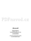 Brandt ME 1030 X