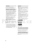 Sony KDL-40EX4xx